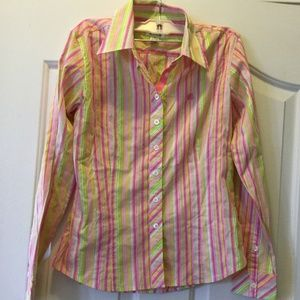 Lilly Pulitzer Pastel Color Long Sleeve 4 Long